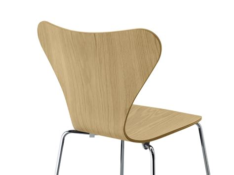 Stackable Chairs Wood by S 233 Rie 7 Stacking Chair Wood Oak By Fritz Hansen