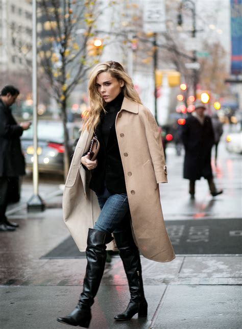 wearing boots the knee boots trend autumn winter 2014 just the