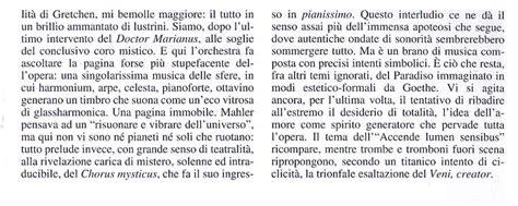 testo inno alla gioia italiano gustav mahler sinfonia n 8 sul testo quot veni creator