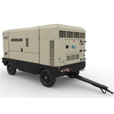 diesel air compressor   view