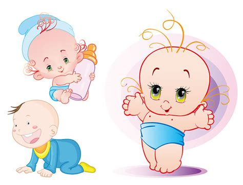 Toddler Floor Plan by Cute Baby Vector Material Download Free Vector Psd Flash