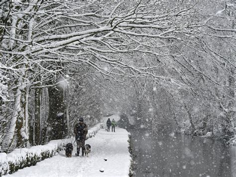 photos of snow uk weather snow forecast as britain braces for icy blast