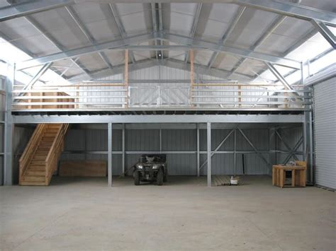 building a loft in garage residential garages sheds pacific steel buildings