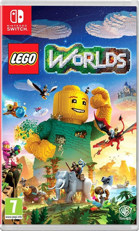lego worlds ps4 xbox one nintendo switch codes tips guide unofficial books lego worlds nintendo switch release date revealed brick