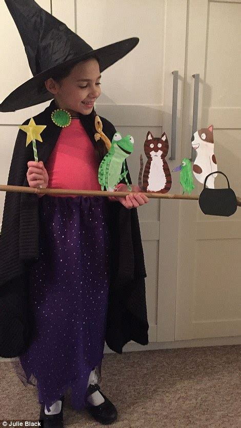 room on the broom costume get creative on world book day daily mail