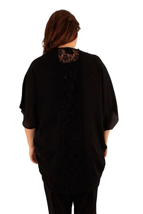 Sale Kimono Mandi Jumbo new plus size floral lace back kimono cardigans womens shrug 16 26 ebay