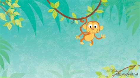 wallpaper cartoon tree cartoon monkey wallpaper wallpapersafari