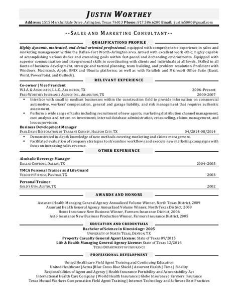 licensed health insurance resume 28 images insurance