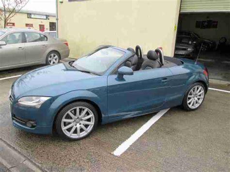 Audi Tt Roadster 3 2 Quattro by Audi Tt Roadster 3 2 V6 2009my Quattro Petrol Blue Car