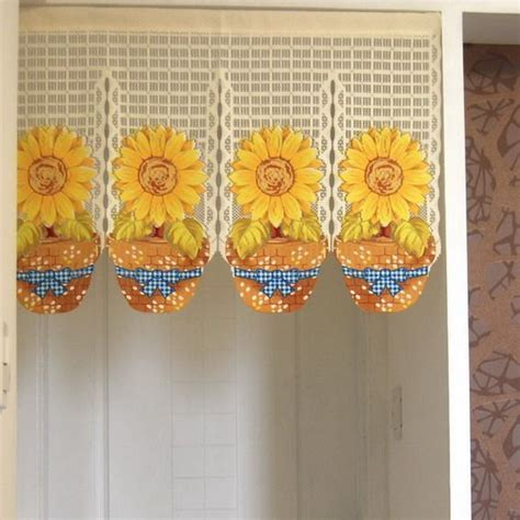 sunflower curtain 10 best images about sunflowers on pinterest home
