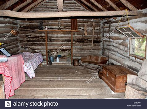 buy little house on the prairie inside the reconstructed cabin little house on the prairie stock photo royalty free