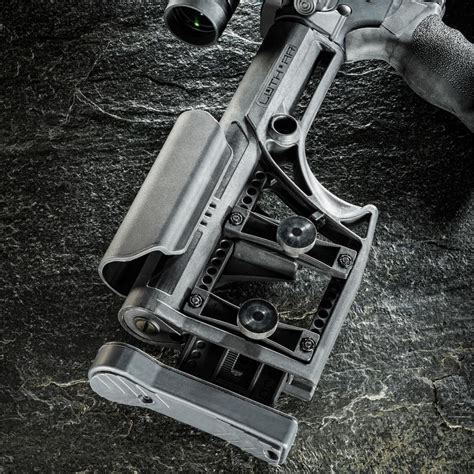 Install Luthar Mba 1 by Luth Ar Buttstock Assembly Mba 1 Rci Xrail