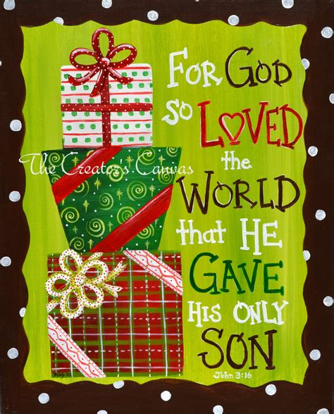 themes about god s love stacked christmas gift presents custom by thecreatorscanvas