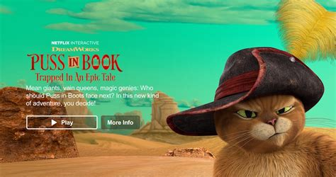 puss in book trapped in an epic tale netflix experimenta con la narraci 243 n interactiva
