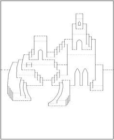 Kirigami Card Templates Pdf by Kirigami On Kirigami Paper Cutting And Eiffel