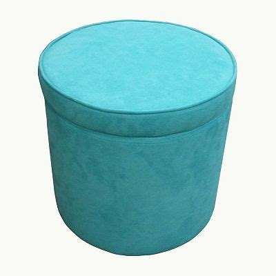 microsuede storage ottoman microsuede storage ottoman turquoise pinterest