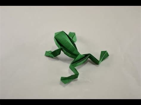 Tree Frog Money Origami Dollar Bill Vincent The Artist - origami jumping frog by toshikazu kawasaki yakomoga