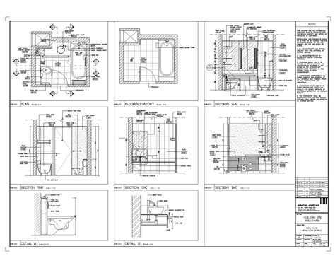 cad drawing bedroom detail drawings