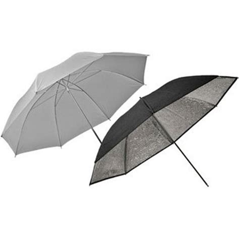 set umbrella 83cm silver and translucent umbrella set el26062 park cameras