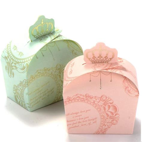 Wedding Favor Boxes by 50 Pcs Ribbon Wedding Favor Boxes And Bags Box Sugar