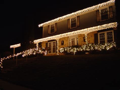 hanging christmas lights on gutters hanging lights on gutters part 2 gutters guards inc