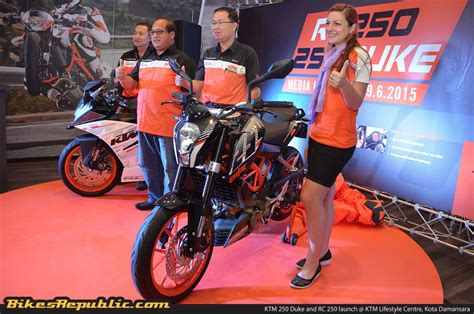Ktm Johor Ktm 250 Duke And Rc 250 Launched From Rm17 888 And Rm18 888