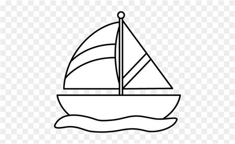 boat clipart black and white free black and white striped sailboat clip art boat black and