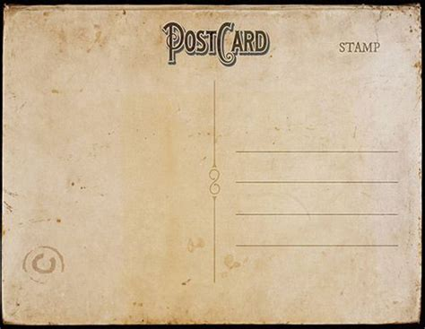 quantum digital post card template vintage postcard template back 2 tamar