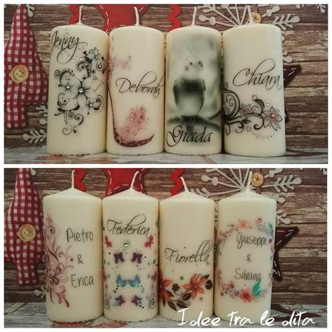 candele personalizzate candele personalizzate e strass feste bomboniere di