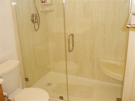 Simulated Marble Shower Walls by Cultured Marble Shower Wall Panels
