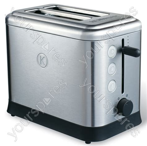 Brushed Steel Toaster Turin Brushed Stainless Steel Toaster Ttm400 By Kenwood