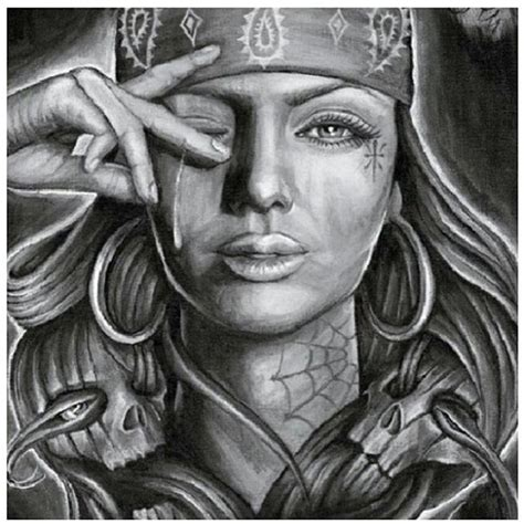 collection of 25 gypsy gangsta tattoo design