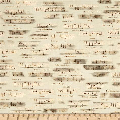 sheet fabric all that jazz sheet music natural discount designer
