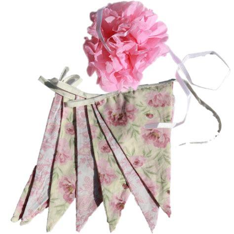 wimpel englisch englisch vintage floral creme gr 252 n design