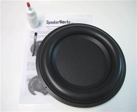 10 inch radiator 10 inch passive radiator speaker repair kit