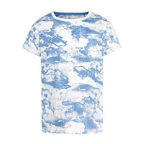 Cloud Print Shirt buy lewis boy cloud print t shirt blue white
