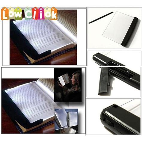 book light reading led panel book light on your page not