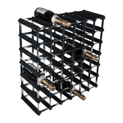 Bottle Rack Ta by 42 Bottle Traditional Wooden Wine Rack 6x6 Traditional