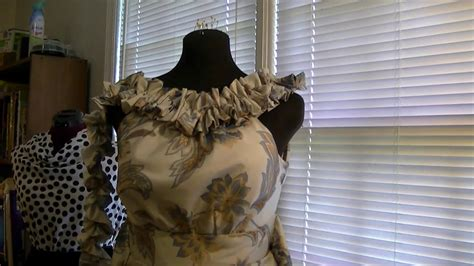 dress curtains diy dress from curtains freestyle friday 8 youtube