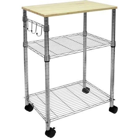 Walmart Kitchen Utility Cart mainstays kitchen cart ms walmart