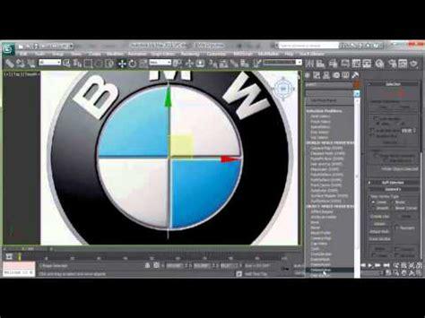 tutorial logo bmw tutorial del logo bmw en 3ds max youtube