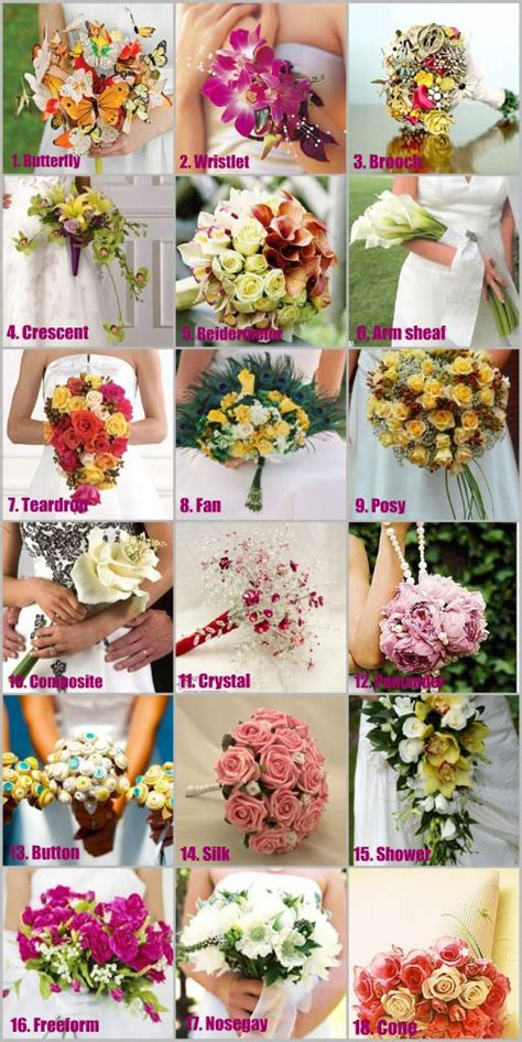 a florist is advertising five types of bouquets 27 best images about bouquets styles types on pinterest