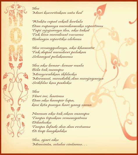 cara membuat puisi yang indah puisi tentang ibu yang indah di kala hari ibu informasi