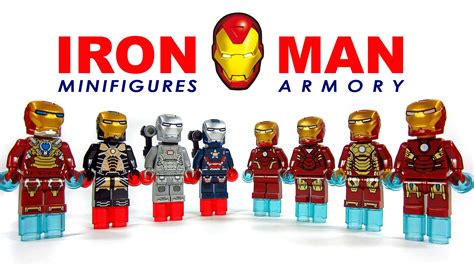 lego iron marvel knock minifigure collection set 1 bootleg