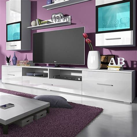orren ellis novara entertainment center  tvs