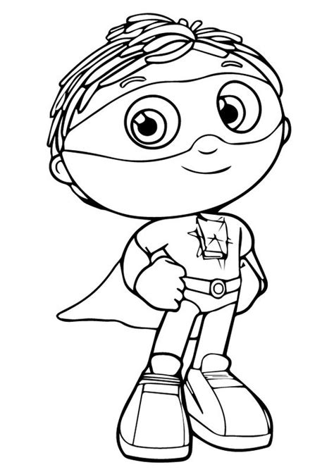 coloring super why and coloring pages on pinterest
