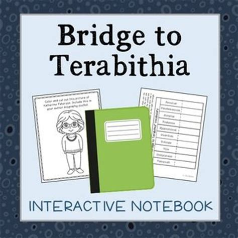 bridge to terabithia novel study guides for the teacher 22 best images about bridge to tarabithia on pinterest