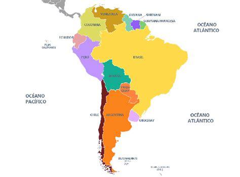 imagenes sudamerica mapa de sudamerica con nombres imagui
