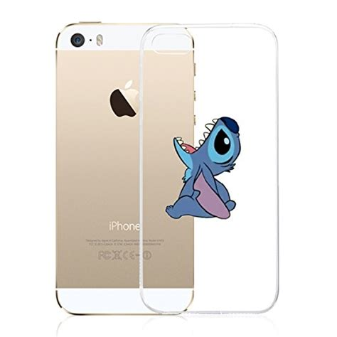 Anti Iphone 5 5s Soft Iphone 5 5s Sili iphone se iphone 5 5s domire soft silicone character tpu clear cases