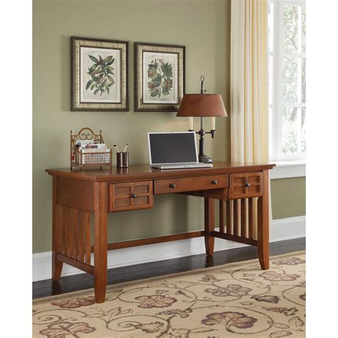 home styles furniture arts and crafts cottage oak executive desk home styles